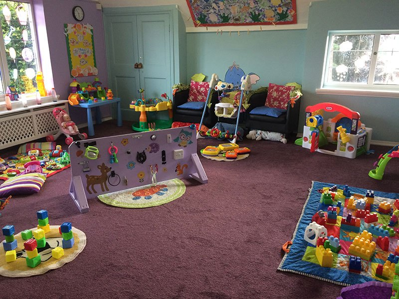 Day care for babies at Cherry Hill Day Nursery, Wrexham