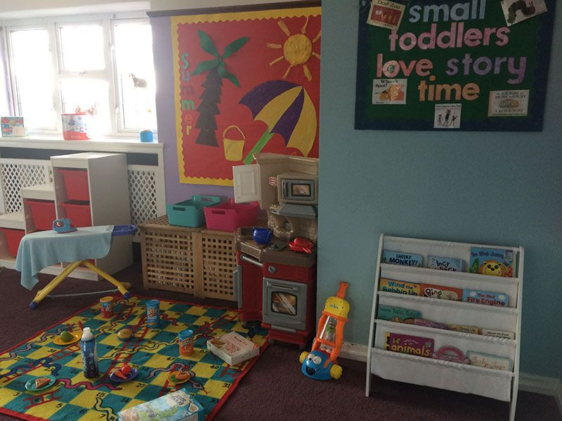 Day care for toddlers at Cherry Hill